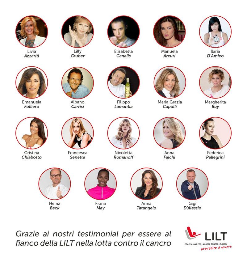 testimonials lega italiana lotta tumori
