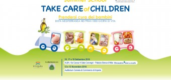 "All'Università di Torino arriva ""Take Care of Children"", prima Summer school sull'alimentazione nei primi 1000 giorni di vita"