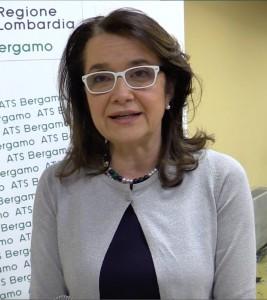 Mara Azzi, direttore generale dell'Agenzia di Tutela della Salute di Bergamo.