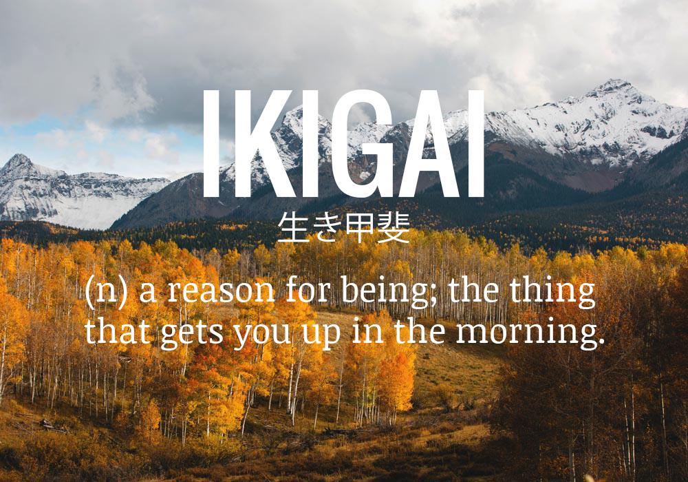 Ikigai: il segreto giapponese per la salute e la felicità