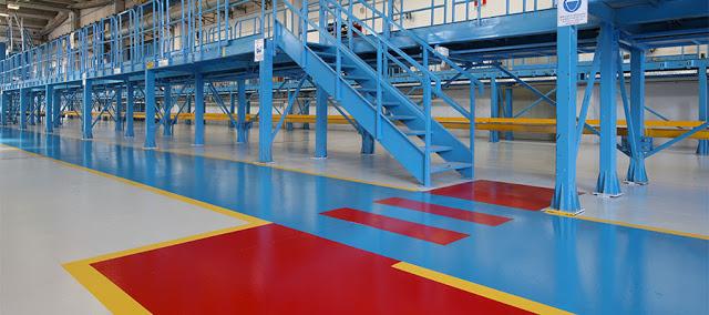 Pavimenti in resina: nell'industria Sivit è leader