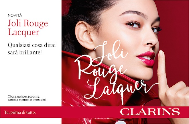 Rossetti spring 2019; Joli Rouge Lacquer Clarins