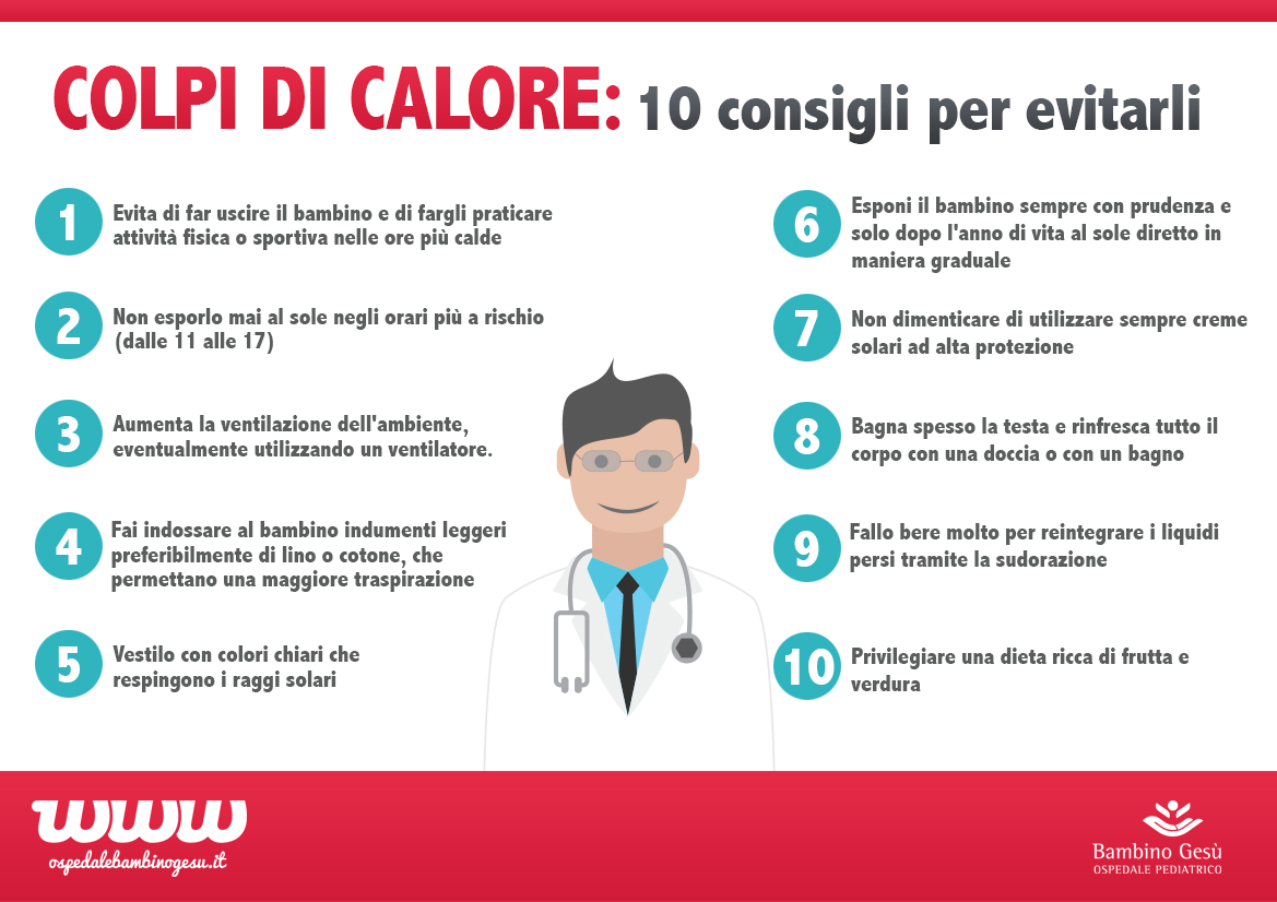 Colpi di calore 10 consigli per evitarli-1