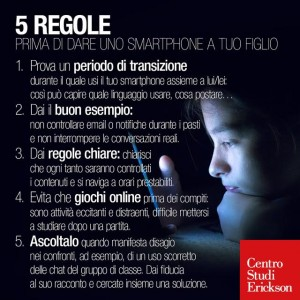 regole bambini cellulare