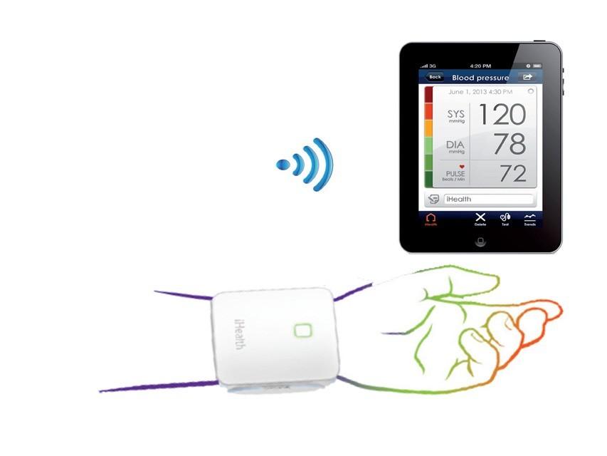 Misurare la pressione del sangue direttamente da tablet o smartphone