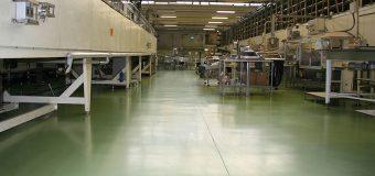 Pavimenti in resina per l'industria alimentare