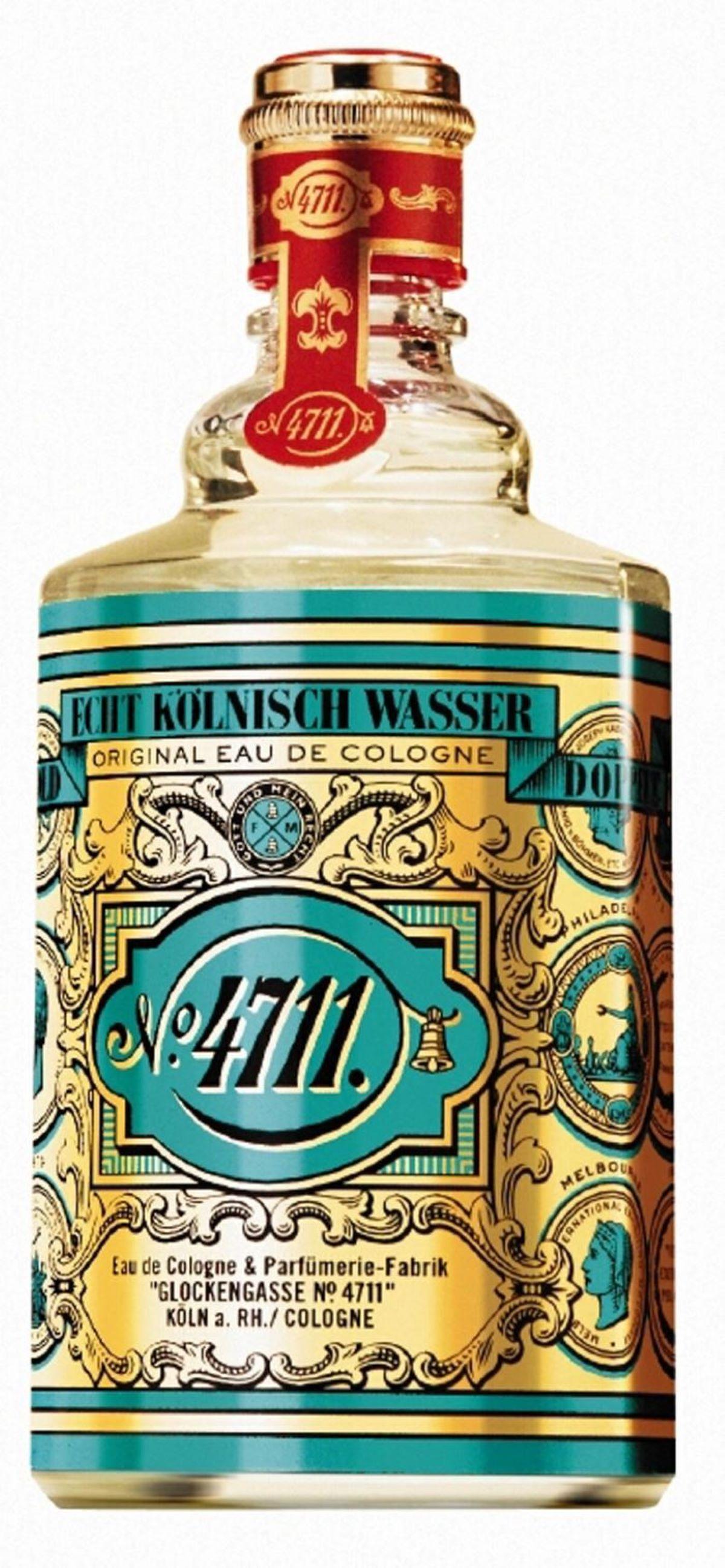 Acqua di COLONIA 4711 un marchio, una storia un antico rimedio igienizzante