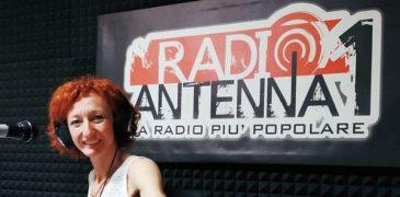 Carla Canape Radio Antenna 1 Torino